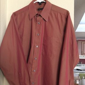 Men's Regis long sleeve size 34/35 15 1/2